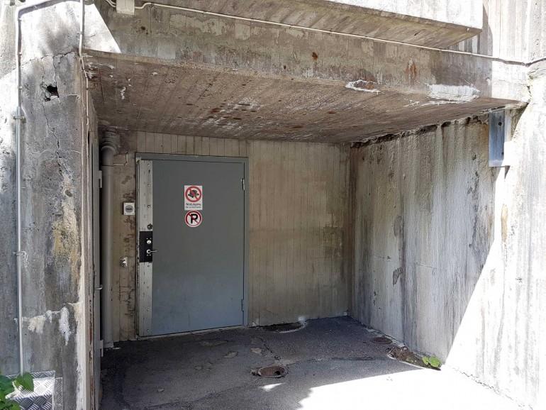 Kalkavlagringar på betong